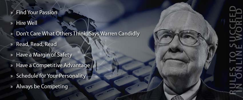 Outsourced Data Entry Services and Warren Buffett's Rules