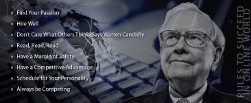 Outsourced Data Entry Services & Warren Buffett's Rules to Succeed in Online World
