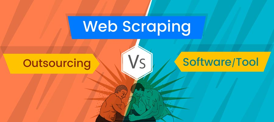 Outsource Web Scraping vs Web Scraping Tools